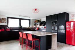 Cocinas de estilo industrial por Andrea Picinelli