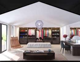 modern Bedroom by fatih beserek