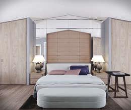 fatih beserek – Yatak odası / Bedroom: modern tarz Yatak Odası