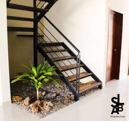 modern Garden by Slab Arquitectos