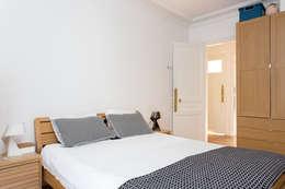 Projekty,  Sypialnia zaprojektowane przez Mon Concept Habitation