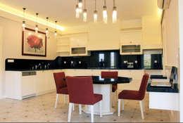 DİZAYNer® | Mutfak – Proje: Çamlbel Köyü - Edremit - İda: modern tarz Mutfak