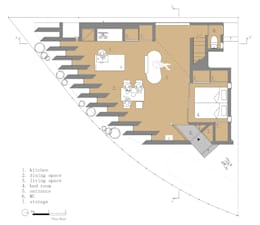 Projekty,   zaprojektowane przez 藤原・室 建築設計事務所