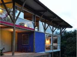 Casas de estilo moderno por JOAO DINIZ ARQUITETURA