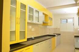 廚房 by Scale Inch Pvt. Ltd.