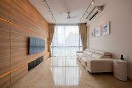 غرفة الميديا تنفيذ Posh Home Interior Design