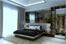 : modern Bedroom by Space Design Group