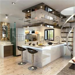 modern Kitchen by Space Design Group