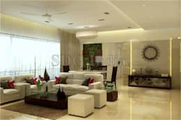 : modern Living room by Space Design Group