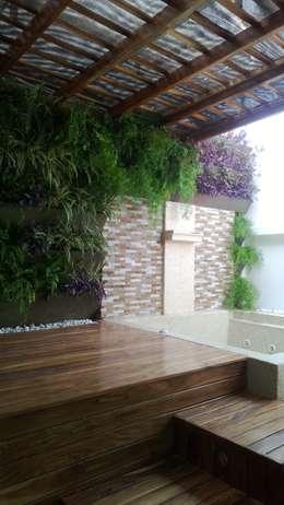 Fotos Varias de jardines - Barranquilla: Jardines de estilo tropical por ecoexteriores