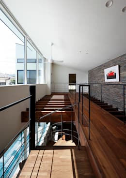 Salas multimedia de estilo moderno por 近藤晃弘建築都市設計事務所