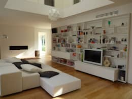 46 idee per la parete attrezzata in un soggiorno moderno for Eusebi arredamenti