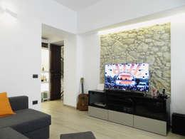 modern Living room by M2Bstudio