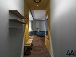 Entrée: Couloir et hall d'entrée de style  par 4ai