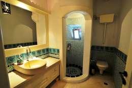 Ebru Erol Mimarlık Atölyesi – Ebru Erol Mimarlık Atölyesi: akdeniz tarzı tarz Banyo