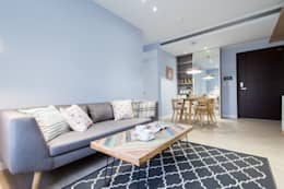 scandinavian Living room by 宅即變空間微整形