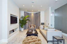 غرفة المعيشة تنفيذ APT Renovation Ltd