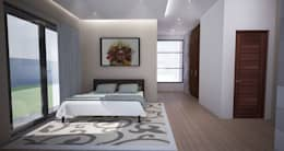 Bedroom: modern Bedroom by A4AC Architects