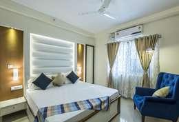modern Bedroom by Nandita Manwani