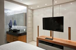 Projekty,  Sypialnia zaprojektowane przez PKB Arquitetura