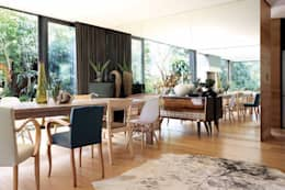 House Cowies Hill: modern Dining room by Ferguson Architects