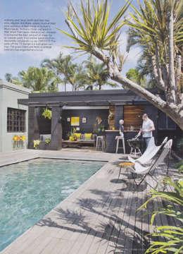 House Morningside: modern Pool by Ferguson Architects