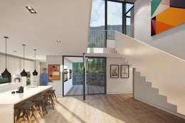 Oranjezicht House #02: modern Kitchen by Kunst Architecture & Interiors