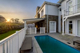 Private Residence, Steyn City, Fourways, Gauteng, South Africa: colonial Pool by Gelding Construction Company  (PTY) Ltd