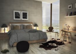 Le Recolte Retirement Village: modern Bedroom by Modo