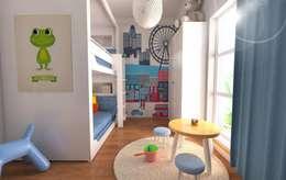 غرفة الاطفال تنفيذ GEKADESIGN