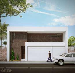 Casa LP: Casas de estilo moderno por Taller Onze