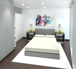 臥室 by André Terleira - Arquitectura e Construção