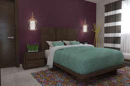 modern Bedroom by Residenza by Diego Bibbiani