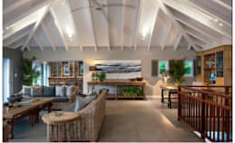 eclectic Living room by JSD Interiors