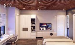 BIỆT THỰ NHÀ VƯỜN HÀ ĐÔNG:  Phòng ngủ by ITALIC DECOR