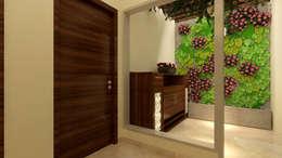 CLOSED BALCONY 2:  Corridor & hallway by MAD DESIGN