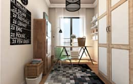 modern Dressing room by GEKADESIGN