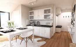 modern Kitchen by GEKADESIGN