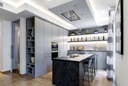 Cocinas de estilo moderno de TM Italia