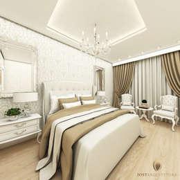 Recámaras de estilo clásico por iost arquitetura