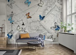 modern Living room by Massimiliano Toniol