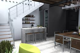 Ruang Penyimpanan Wine by homify