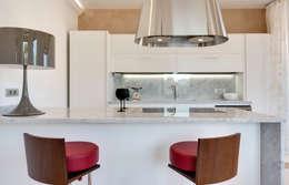 Cocinas de estilo moderno de Gruppo Castaldi | Roma