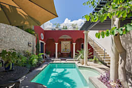 colonial Pool by Merida Arquitectos