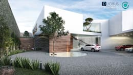 residencia F+P: Casas de estilo moderno por DUOBUS M + L arquitectos