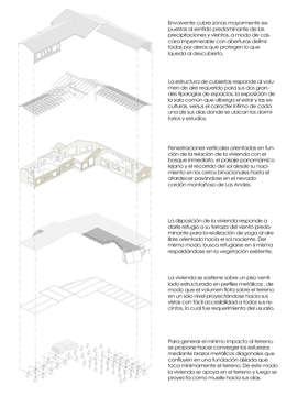 ESQUEMA ISOMETRICO: Casas de estilo moderno por U.R.Q. Arquitectura