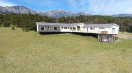 VISTA GENERAL 1: Casas de estilo moderno por U.R.Q. Arquitectura
