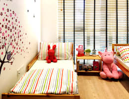 kids room: tropical Nursery/kid's room by RSDS Architects