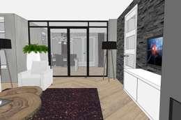 interieurontwerp nieuwbouw woning:   door BinnenID
