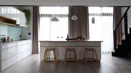Cocinas de estilo escandinavo por 樂沐室內設計有限公司